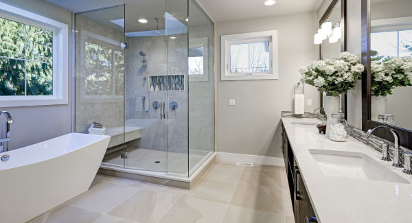 Bathroom remodeling services from AGBO Heating, Cooling & Plumbing